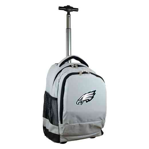 NFPEL780-GY: NFL Philadelphia Eagles Wheeled Premium Backpack