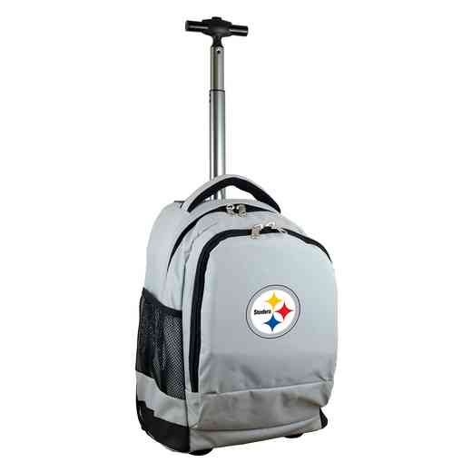 NFPSL780-GY: NFL Pittsburgh Steelers Wheeled Premium Backpack