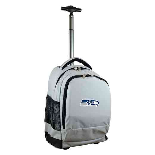 NFSSL780-GY: NFL Seattle Seahawks Wheeled Premium Backpack