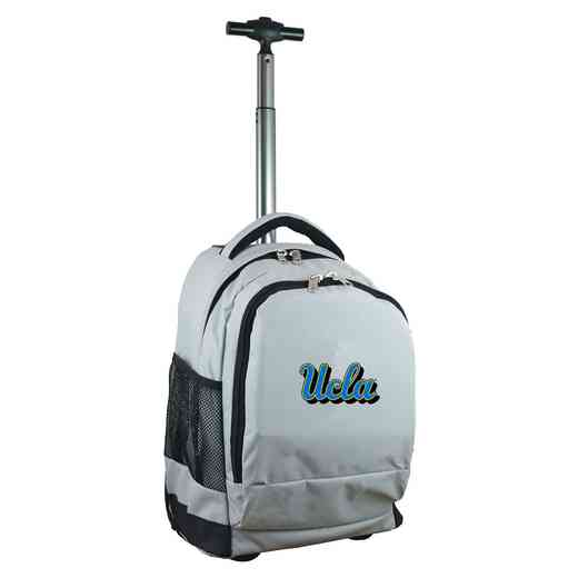CLCAL780-GY: NCAA UCLA Bruins Wheeled Premium Backpack