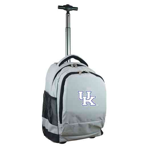 CLKYL780-GY: NCAA Kentucky Wildcats Wheeled Premium Backpack