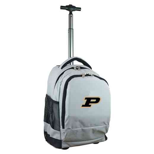 CLPUL780-GY: NCAA Purdue Boilermakers Wheeled Premium Backpack