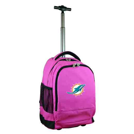 NFMDL780-PK: NFL Miami Dolphins Wheeled Premium Backpack