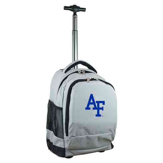 CLAFL780-GY: NCAA Air Force Falcons Wheeled Premium Backpack