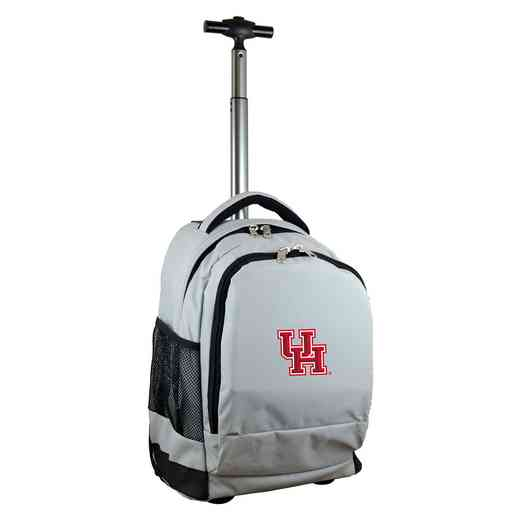 CLHUL780-GY: NCAA Houston Cougars Wheeled Premium Backpack