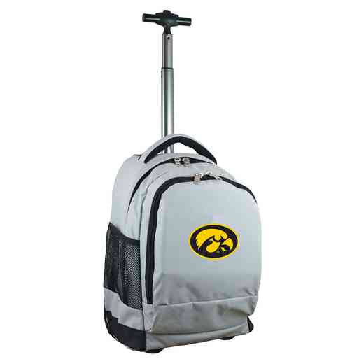 CLIWL780-GY: NCAA Iowa Hawkeyes Wheeled Premium Backpack