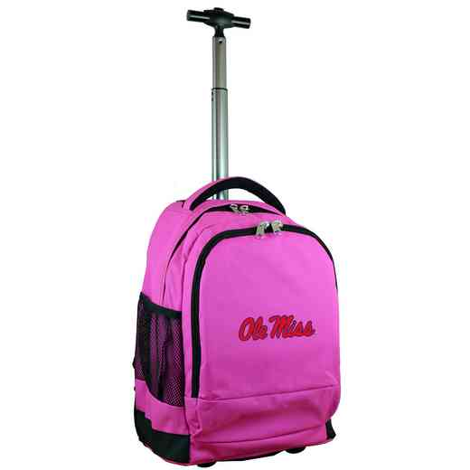 CLMIL780-PK: NCAA Mississippi Ole Miss Wheeled Premium Backpack