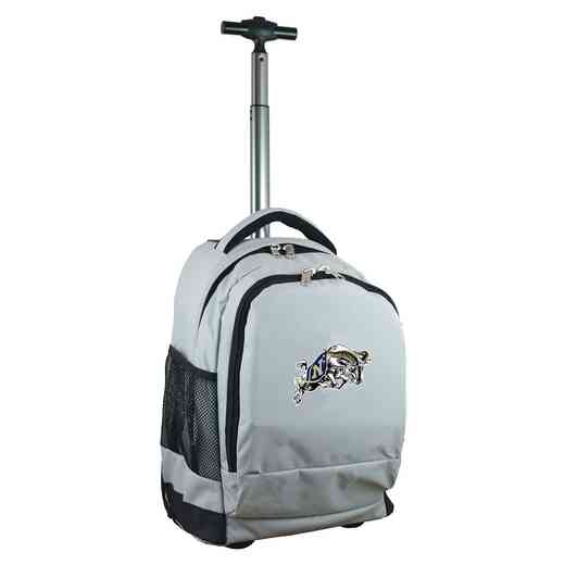 CLNVL780-GY: NCAA Navy Midshipmen Wheeled Premium Backpack