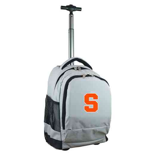 CLSYL780-GY: NCAA Syracuse Orange Wheeled Premium Backpack