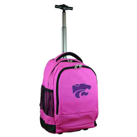CLKSL780-PK: NCAA Kansas State Wildcats Wheeled Premium Backpack