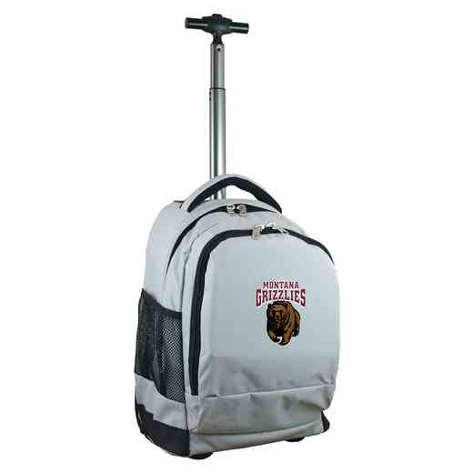 CLMGL780-GY: NCAA Montana Grizzlies Wheeled Premium Backpack