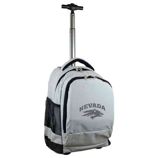 CLNAL780-GY: NCAA Nevada Wolf Pack Wheeled Premium Backpack