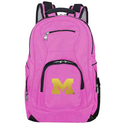 CLMCL704-PINK: NCAA Michigan Wolverines Backpack Laptop