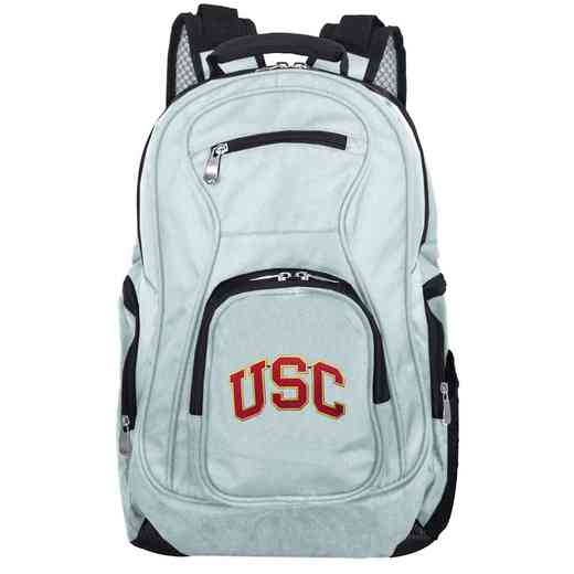 CLSCL704-GRAY: NCAA Southern Cal Trojans Backpack Laptop