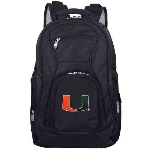 CLMUL704: NCAA Miami Hurricanes Backpack Laptop