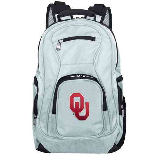 CLOUL704-GRAY: NCAA Oklahoma Sooners Backpack Laptop