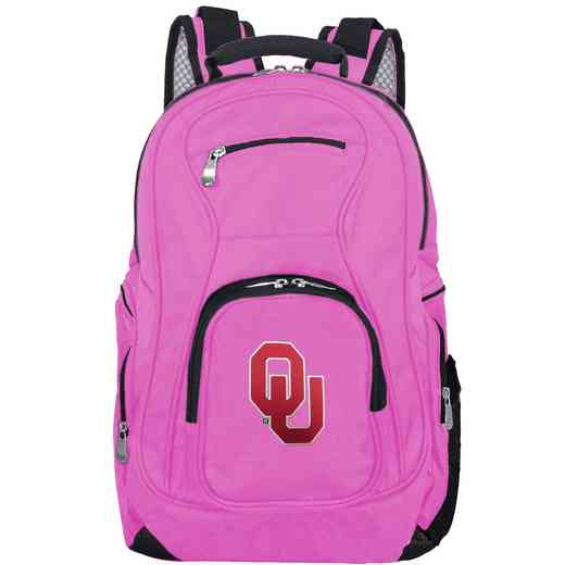 CLOUL704-PINK: NCAA Oklahoma Sooners Backpack Laptop