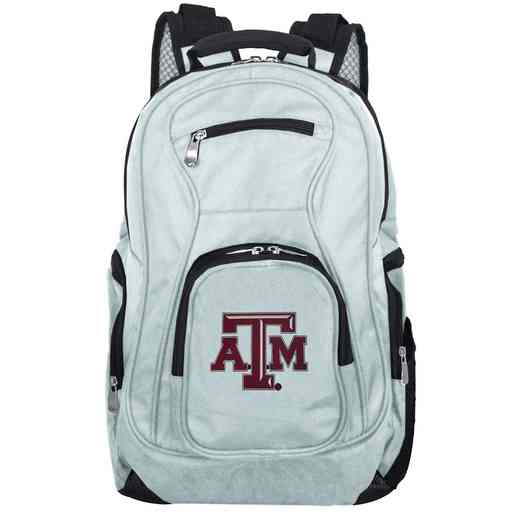 CLTAL704-GRAY: NCAA Texas A&M Aggies Backpack Laptop