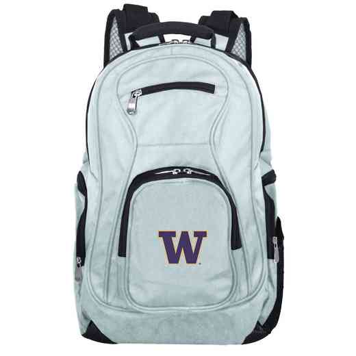 CLWAL704-GRAY: NCAA Washington Huskies Backpack Laptop
