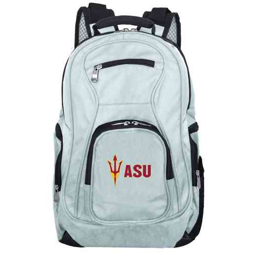 CLAZL704-GRAY: NCAA Arizona State Sun Devils Backpack Laptop