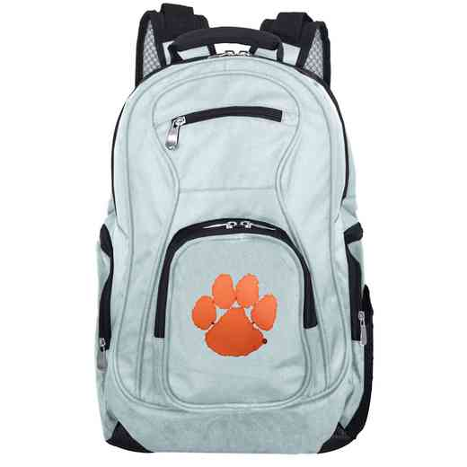 CLCLL704-GRAY: NCAA Clemson Tigers Backpack Laptop