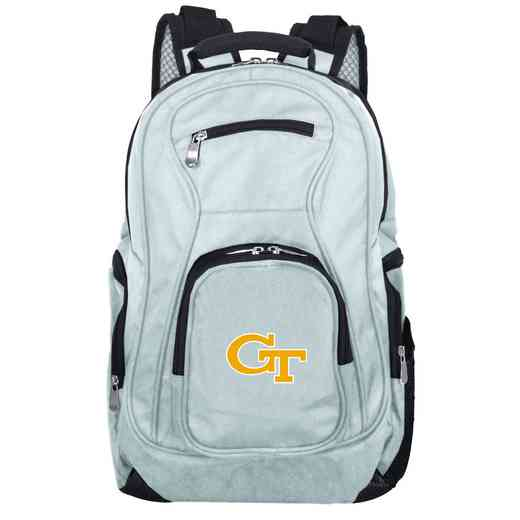 CLGTL704-GRAY: NCAA Georgia Tech Yellow Jackets Backpack Laptop