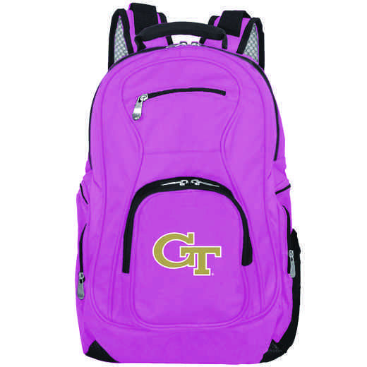 CLGTL704-PINK: NCAA Georgia Tech Yellow Jackets Backpack Laptop