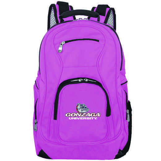 CLGZL704-PINK: NCAA Gonzaga University Bulldogs Backpack Laptop