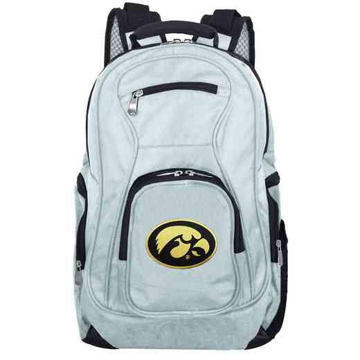 CLIWL704-GRAY: NCAA Iowa Hawkeyes Backpack Laptop