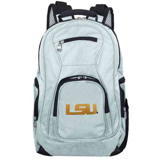 CLLSL704-GRAY: NCAA Louisiana Tigers Backpack Laptop
