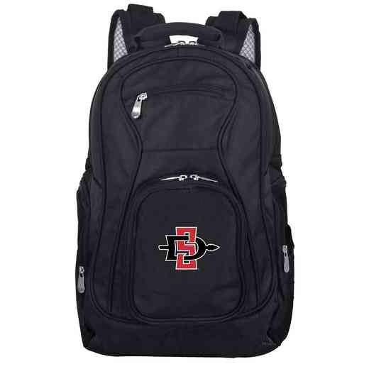 CLSGL704: NCAA San Diego State Aztecs Backpack Laptop