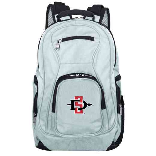 CLSGL704-GRAY: NCAA San Diego State Aztecs Backpack Laptop