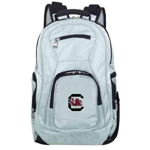 CLSOL704-GRAY: NCAA South Carolina Gamecocks Backpack Laptop
