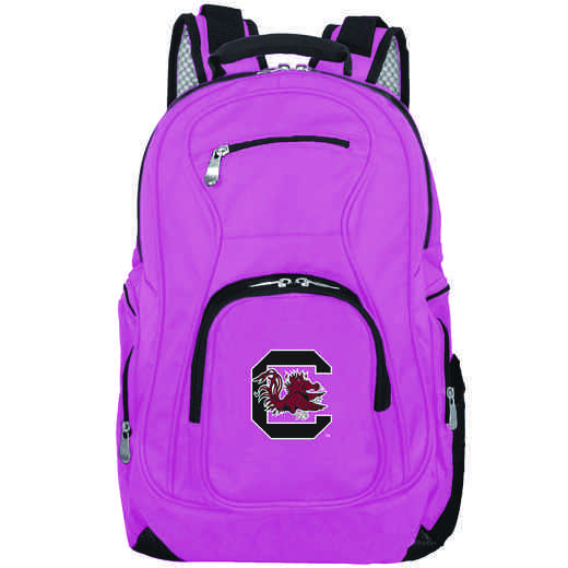 CLSOL704-PINK: NCAA South Carolina Gamecocks Backpack Laptop