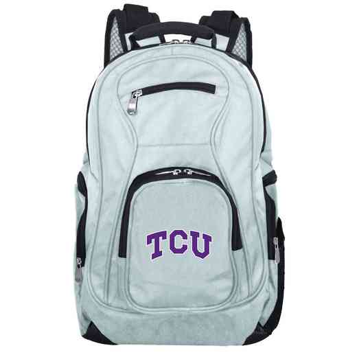 CLTCL704-GRAY: NCAA Texas Christian University Horned Frogs Backpack Laptop