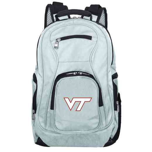 CLVTL704-GRAY: NCAA Virginia Tech Hokies Backpack Laptop