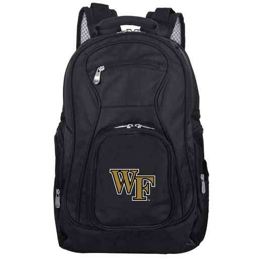 CLWFL704: NCAA Wake Forest Demon Deacons Backpack Laptop