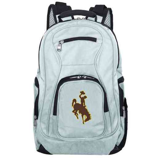 CLWYL704-GRAY: NCAA Wyoming Cowboys Backpack Laptop