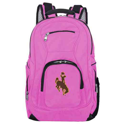 CLWYL704-PINK: NCAA Wyoming Cowboys Backpack Laptop