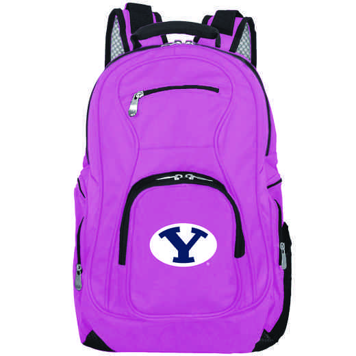 CLBYL704-PINK: NCAA Brigham Young Cougars Backpack Laptop