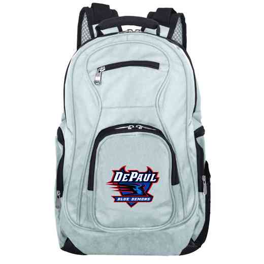 CLDPL704-GRAY: NCAA Depaul Backpack Laptop