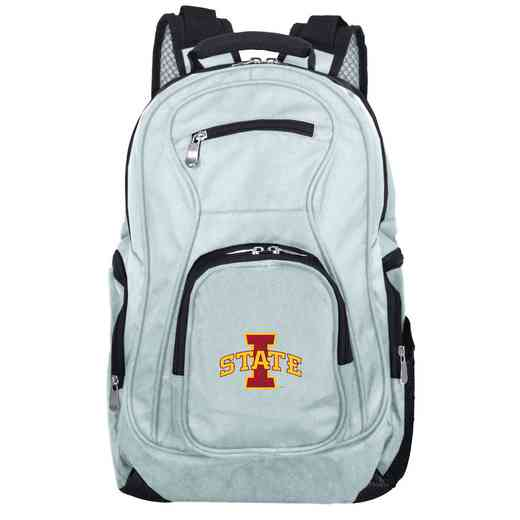 CLISL704-GRAY: NCAA Iowa State Cyclones Backpack Laptop