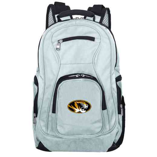 CLMOL704-GRAY: NCAA Missouri Tigers Backpack Laptop