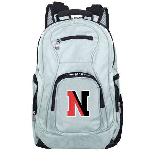 CLNEL704-GRAY: NCAA Northeastern Huskies Backpack Laptop