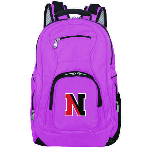 CLNEL704-PINK: NCAA Northeastern Huskies Backpack Laptop