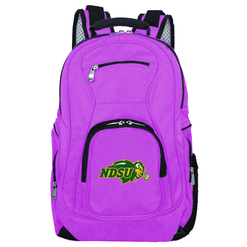 CLNUL704-PINK: NCAA North Dakota State Bison Backpack Laptop