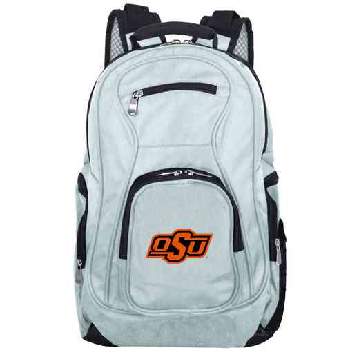 CLOKL704-GRAY: NCAA Oklahoma State Cowboys Backpack Laptop
