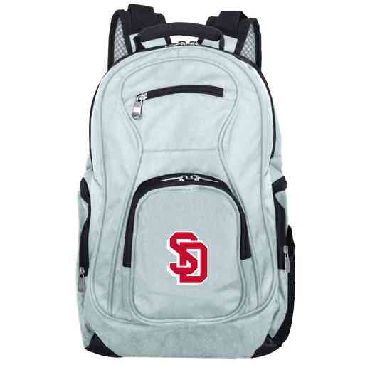 CLSDL704-GRAY: NCAA South Dakota Coyotes Backpack Laptop