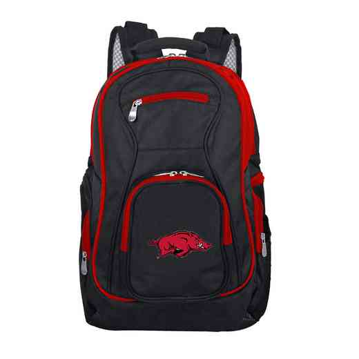 CLARL708: NCAA Arkansas Razorbacks Trim color Laptop Backpack