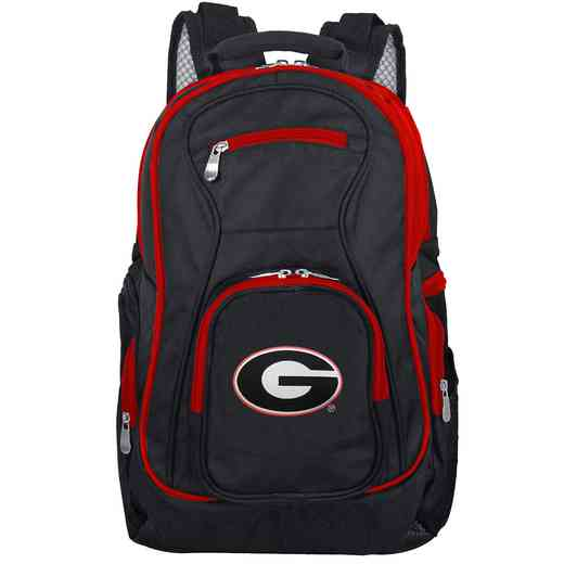 CLGAL708: NCAA Georgia Bulldogs Trim color Laptop Backpack